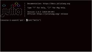 search mode in julia programming language